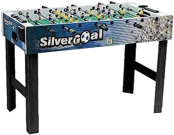 Fabrica de Juguetes - Futbolin De Madera Silver Goal 122 X 61 X 82 ...