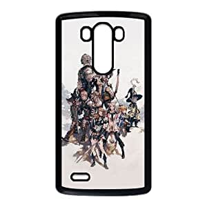 Final Fantasy Xiv 5836 2588808488 Funda LG G3 Funda caja del teléfono celular Negro O4J3MR Phone Case Custom Unique