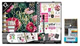 me & My Big Ideas Create 365 The Happy Planner, Have Faith Box Kit, 12 Month Undated, Comes with a Kemah Craft 10 Pcs Fineliner Color Pens