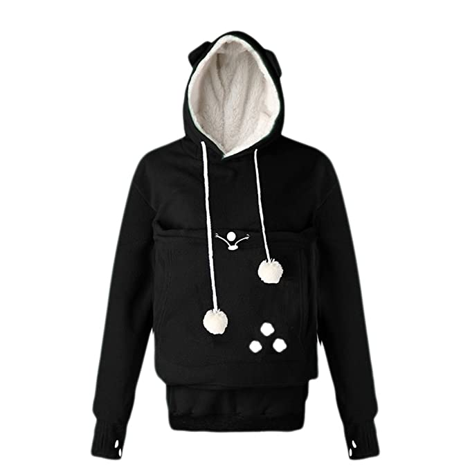 Amazon.com: ladyjiao – Forro polar para mujer sudaderas con ...