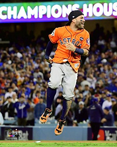size 40 bbf50 0f568 Jose Altuve Houston Astros 2017 World Series Game 7 Photo (Size: 8