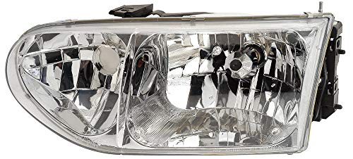 (For 1999 2000 Nissan Quest | Mercury Villager Headlight Headlamp Driver Left Side Replacement FO2502165)