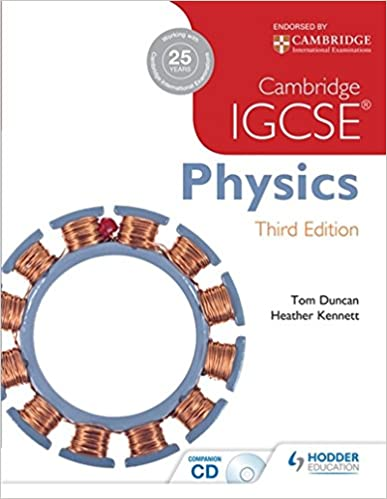 Amazon cambridge igcse physics 3rd edition plus cd cambridge igcse physics 3rd edition plus cd 3rd edition fandeluxe Gallery