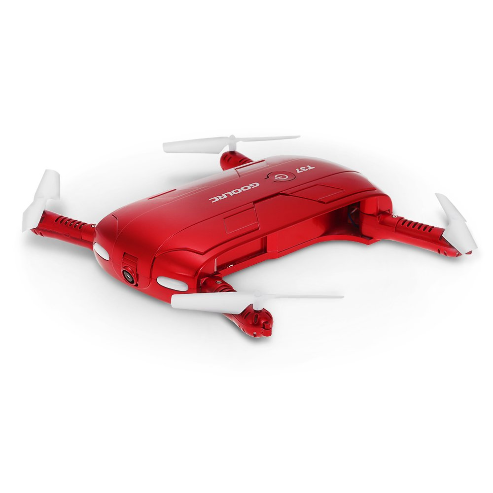 JIMI GoolRC T37 Wifi FPV Quadcopter G-sensor Altitude Hold Foldable Mini Selfie RC Drone With HD Camera