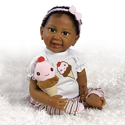 Paradise Galleries African American Realistic Baby Doll S...