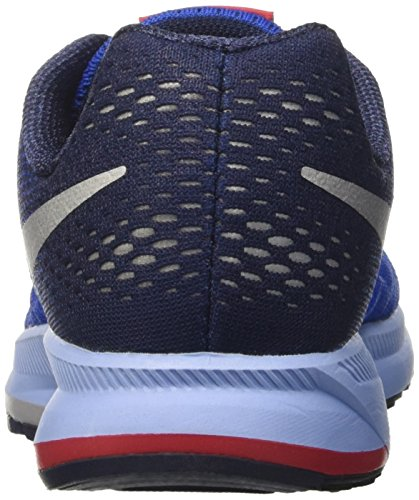 Nike 834316-402, Zapatillas de Deporte para Niños Azul (Game Royal / Metallic Silver Midnight Navy)