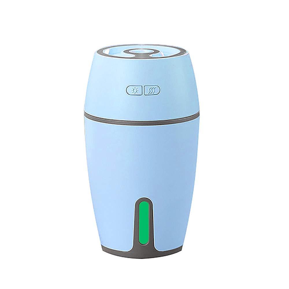 Grau FeiliandaJJ Mini tragbar Luftbefeuchter Ultraschall 300ML Stumm Zerst/äuber Humidifier f/ür Yoga Babyzimmer B/üro Weihnachten Geschenk USB-Schnittstelle