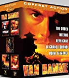 Coffret van damme : the order ; le grand tournoi ; point d'impact ; inferno ; replicant