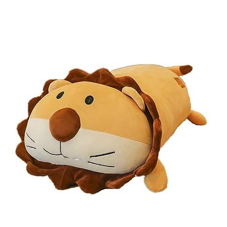 GIRISR Plush Lion Soft Down Algodón Muñeca Pequeño León ...