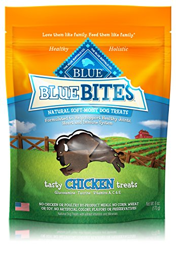 BLUE Bites Chicken Recipe Dog Treats 6-oz