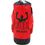 DollarItemDirect 12'' Boxing Bag (RED&BLK) W/ 8'' Gloves in PEGABLE NET Bag, Case of 24