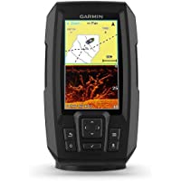 Garmin Fishfinder Striker Plus 4cv with a Stern Probe, Negro