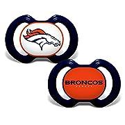Baby Fanatic Denver Broncos 2 Piece Pacifier Set