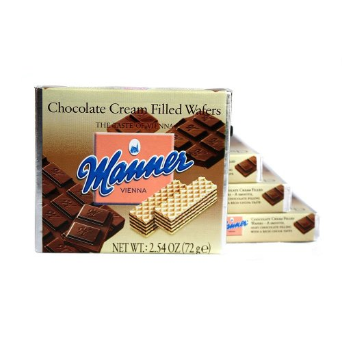 Wafers Choc (Manner Wafer Choc Crm)