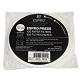 Espro 1032PF-100 100 Paper Coffee Filters, fits P7, P5, and 32 oz P3 Presses