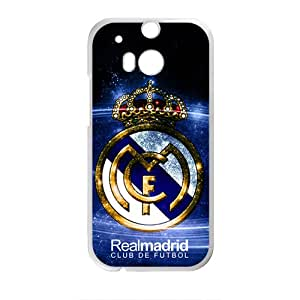 YYYT Realmadrid Club Of Futbol Fashion Comstom Plastic case cover For HTC One M8