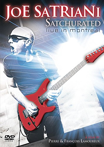 DVD : Joe Satriani - Satchurated: Live in Montreal (2 Disc)