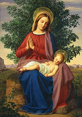 Madonna and Child Boxed Holiday Half Notecards