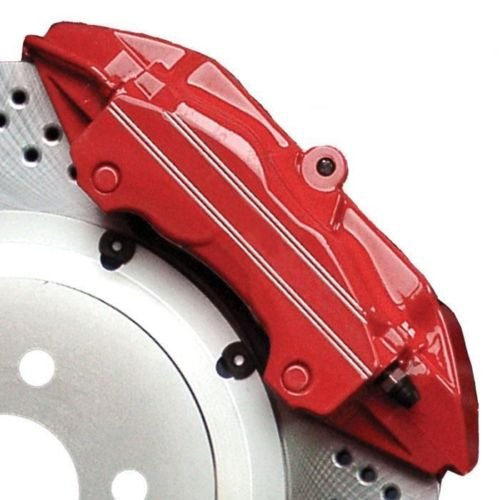 G2 High Heat Temperature Brake Caliper Paint Kit system Set Custom Mustang Color Torch Red Made in the USA