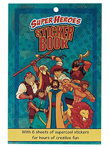 Super Heros Sticker Book: Bible Fun