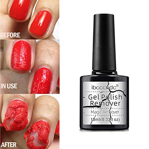 Volwco Magic Nail Polish Remover, Burst Nail Remover Burst in 3-5 Minutes, Easily & Quickly, Don't Hurt Your Nails,Nail Gel Polish Burst Magic Remover Soak Off UV LED Nail Polish Cleane