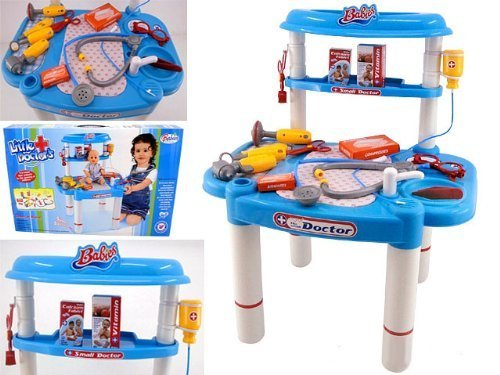 CHIMAERA Little Doctors Deluxe Medical Doctor Playset For Kids