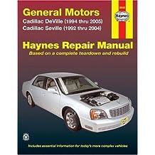 General Motors Cadillac DeVille (1994 thru 2005) Cadillac Seville (1992 thru 2004)