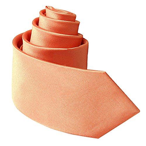 DQT Corbata - para hombre Rosa coral Large: Amazon.es: Ropa y ...