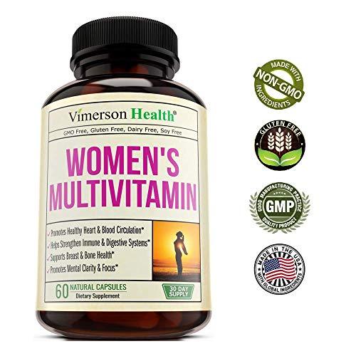 Women's Daily Multivitamin/Multimineral Supplement - Enhanced Vitamins & Minerals. Chromium, Magnesium, Biotin, Zinc, Calcium, Green Tea. Antioxidant Properties for Women. Heart & Breast Health. by Vimerson Health (Image #5)