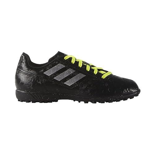Adidas PerformanceCONQUISTO II TF - Botas de fútbol multitacos - Core Black/Silver Metallic/Solar Red: Amazon.es: Zapatos y complementos