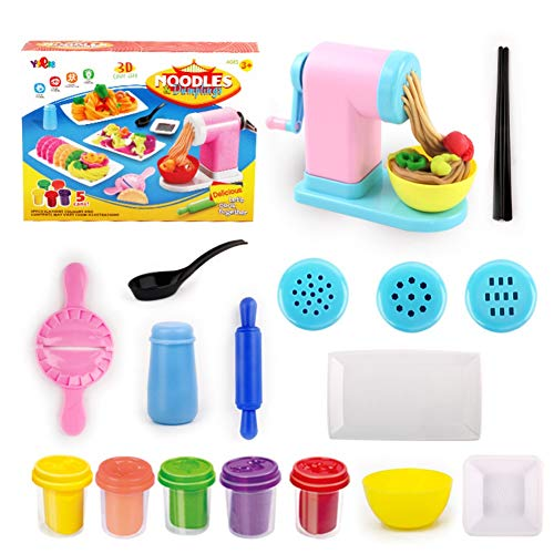 Timall 3D Color Clay Mold Mud Noodle Machine