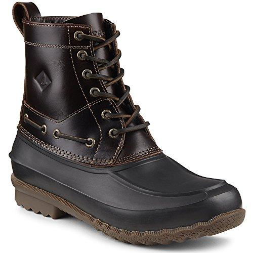 Sperry Top-Sider Men's Decoy Rain Boot, Amaretto, 9 M US