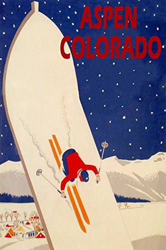 ASPEN COLORADO SKIING SNOWBOARD SKI JUMPING RACE SKIS WINTER SPORT TRAVEL TOURISM 32