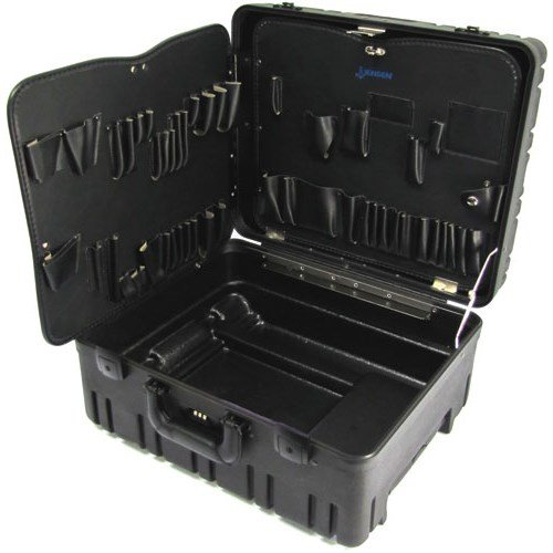 "Jensen Tools 377B870 8"" Roto-Rugged Wheeled Case with Pal..."