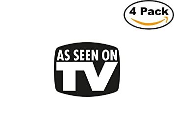 amazon co jp as seen on tv eps 4ステッカー4 x 4インチ車バンパー