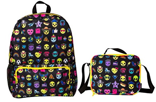 Style Emoji Print Backpack Insulated product image