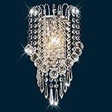 LightInTheBox Contemporary Crystal Wall Sconces E12 E14 Metal Wall Light Chrome Uplight Lamp