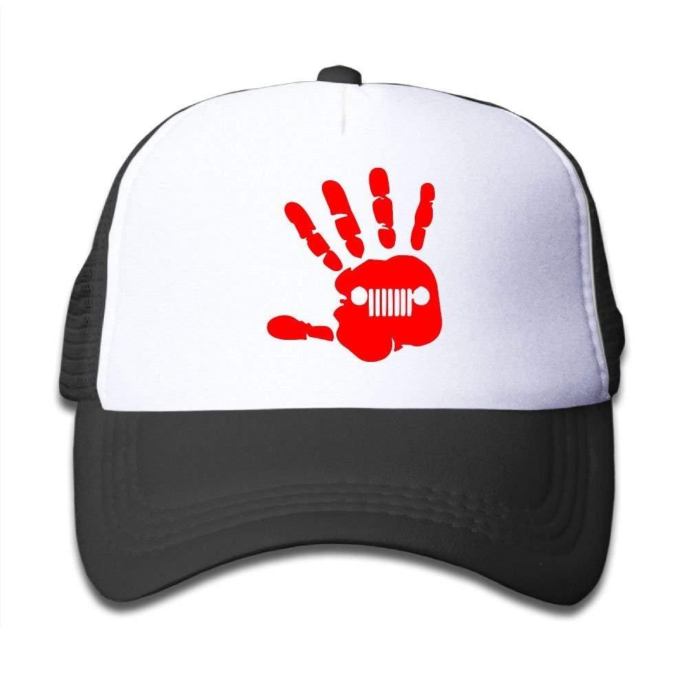 Trucker Caps Boy Girl The Jeep Wave Mesh Baseball Hat