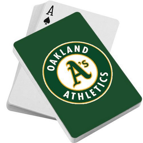 fan products of MLB Oakland Athletics Playing Cards