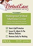 ProtectEase Classic Waterproof Fitted Mattress Cover (Full)