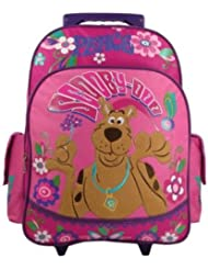 Scooby Doo Peace & Love Large 15 Rolling Backpack [Apparel]
