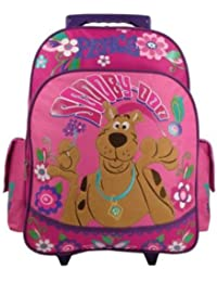 """Peace & Love Large 15"""" Rolling Backpack [Apparel]"""