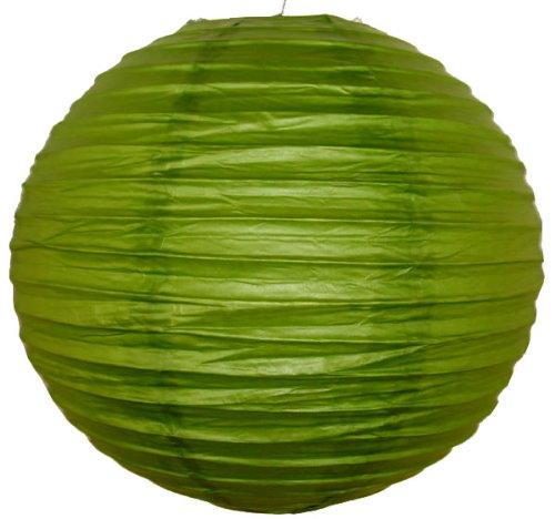 Just-Artifacts-20-Grass-Green-ChineseJapanese-Paper-LanternLamp-20-Diameter-Just-Artifacts-Brand