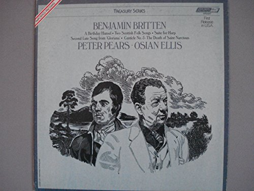 Benjamin Britten: A Birthday Hansel; Two Scottish Folk Songs; Suite for Harp; Second Lute Song from