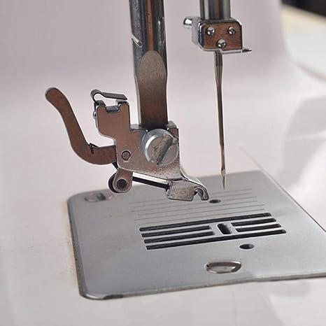 yeqin doméstica Máquina de coser prensatelas pie bajo filo ...