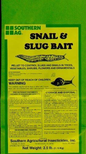 - Southern Ag Snail & Slug Bait, 2.5 LB