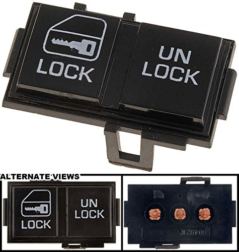 - APDTY 012118 Power Door Lock Switch - Front Left on Trim Pad, 1 Button