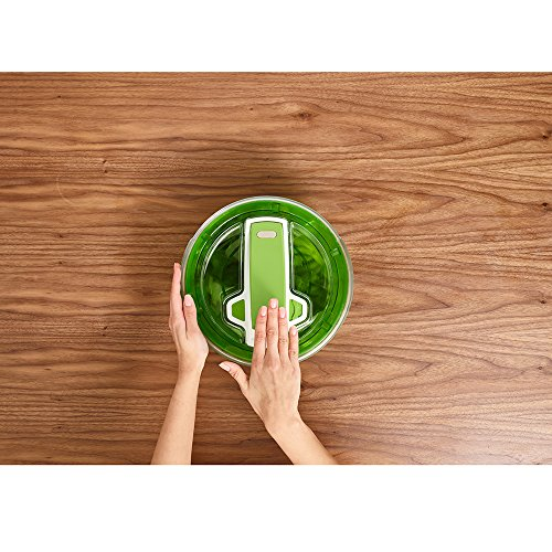 ZYLISS Swift Dry Salad Spinner, Small, Green by Zyliss (Image #9)