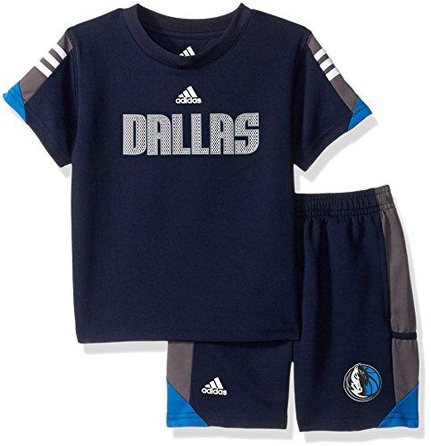 - NBA Toddler Dallas Mavericks Possession Tee & Short Set-Dark Navy-3T