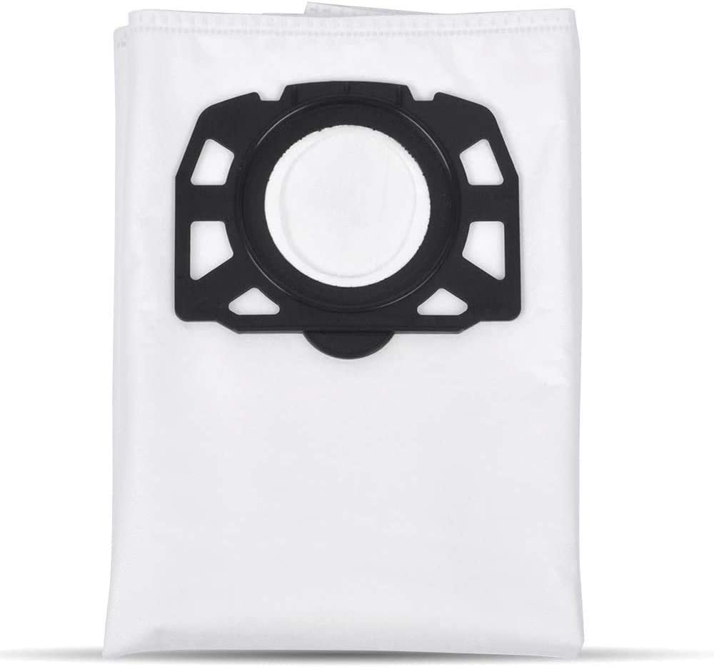 MV6 MV5 Isincer 15 Pack Vacuum Cleaner Bag Replacement for Karcher 2.863-006.0 Vacuum Cleaner WD4 WD5 WD5//Premium// MV4
